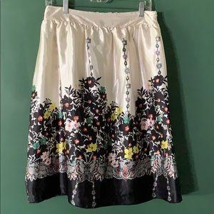 AsHro floral lined full skirt 14